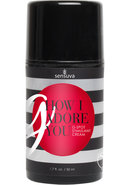 Sensuva G How I Adore You G Spot Stimulant Cream For Her...
