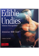 Sensuous With Taste Edible Undies Male Pink Champagne